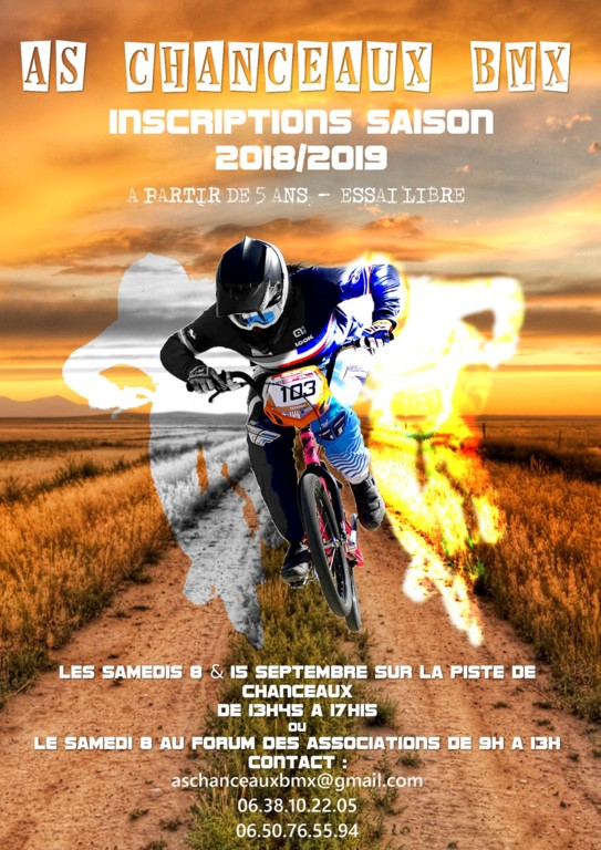 Inscription saison 2018-2019